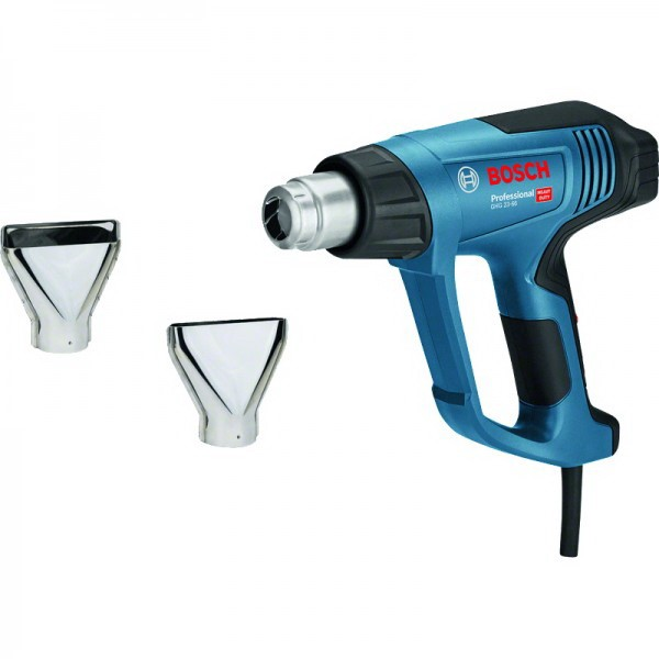 BOSCH HEAT GUNS GHG 23-66 KIT PROFESSIONAL - A 2-PART ACCESSORIES BLUE - BLACK, 2,300 WATTS