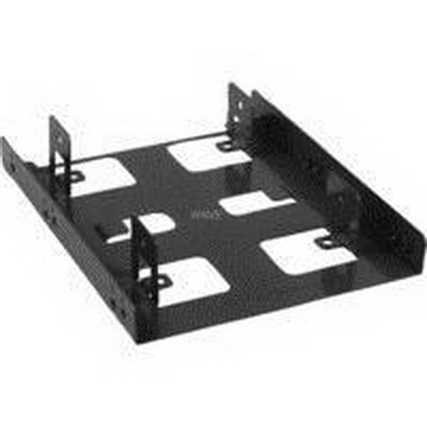 "SHARKOON DRIVE CAGE 3.5 ""BAYEXTENSION, MOUNTING FRAME BLACK"