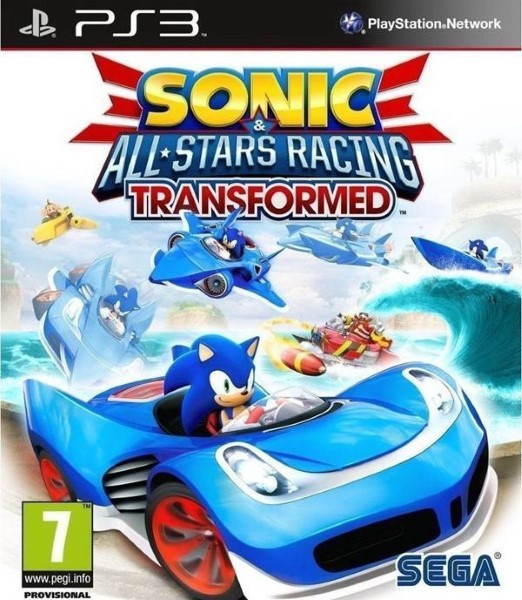 SONIC ALL-STARS RACING TRANSFORMED PS3