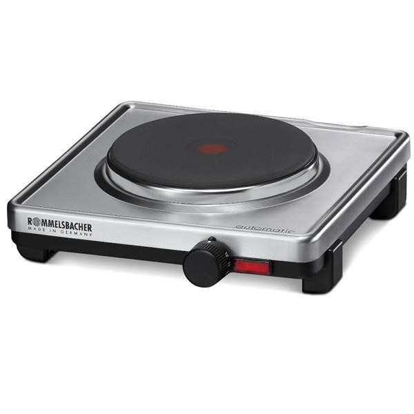 Rommelsbacher hotplate AK 1599 stainless steel  black