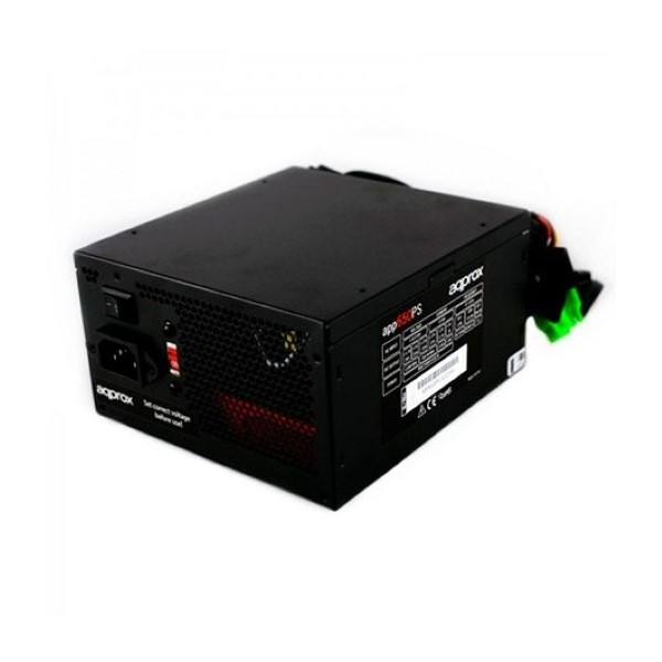 APPROX POWER SUPPLY ATX 650W  APP650PS BLACK