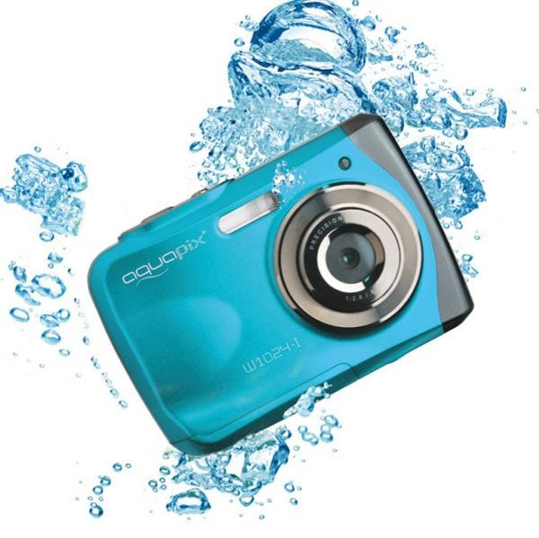 AQUAPIX WATERPROOF CAMERA 1024-I SPLASH ICEBLUE