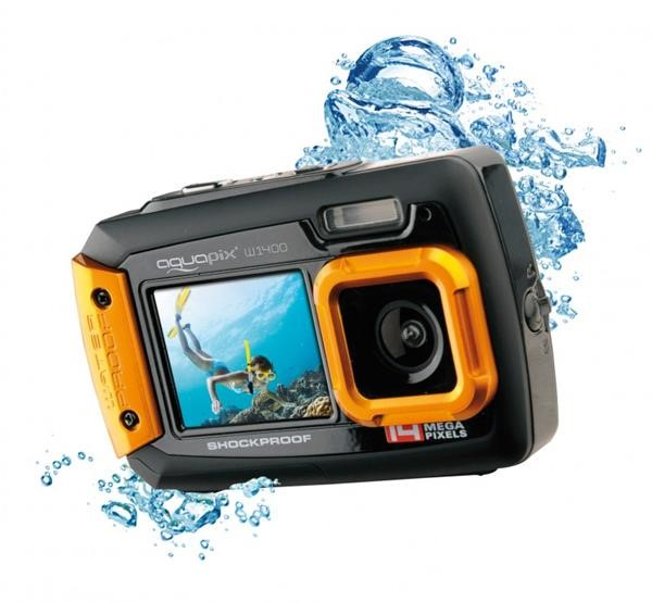 AQUAPIX WATERPROOF CAMERA 1400 ACTIVE ORANGE