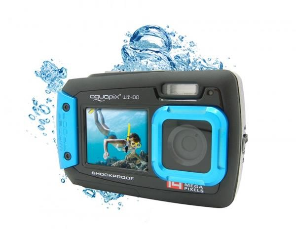 AQUAPIX WATERPROOF CAMERA 1400 ACTIVE ICEBLUE