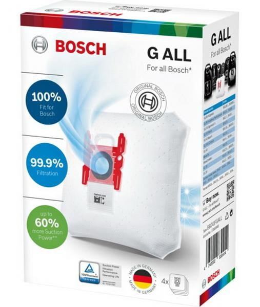 Bosch vacuum cleaner bag 4 + 1 type GALL 4 pieces