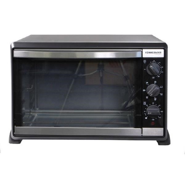Rommelsbacher Back & Grill oven with convection BG 1550 mini oven Black, Retail