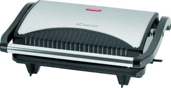 Bomann Multi grill MG 2251 CB stainless steel  black