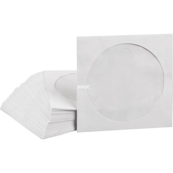 MEDIARANGE CD / DVD PAPER COVERS, CASES CASES CD, DVD, BLU-RAY PAPER 100 PIECES, BULK