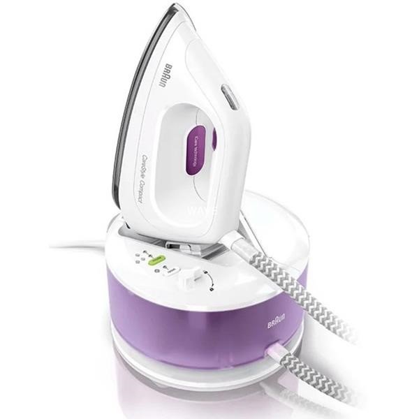 BRAUN STEAM IRONING STATION IS 2044 VI WH/VT CARESTYLE CS COMPACT
