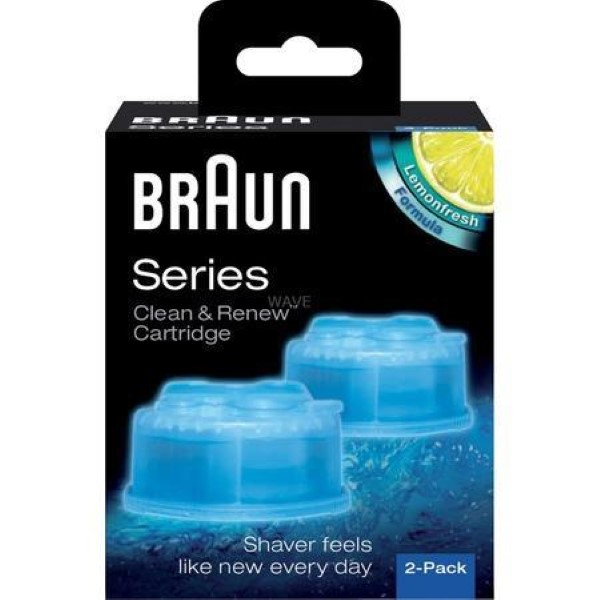 BRAUN HYGIENE CLEAN & RENEW CCR 2 (2-PACK), DETERGENTS RETAIL