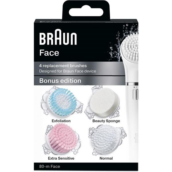 BROWN FACE SE80M ESSAY MIX CLEANSING BRUSH FOR BROWN FACE 4 ATTACHMENTS