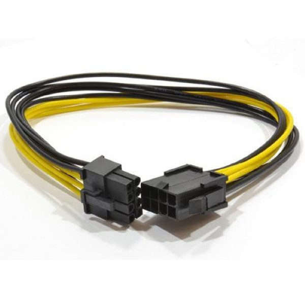 CABLEXPERT INTERNAL 6+2 PIN CPI EXPRESS POWER EXTENSION CABLE 0,3M