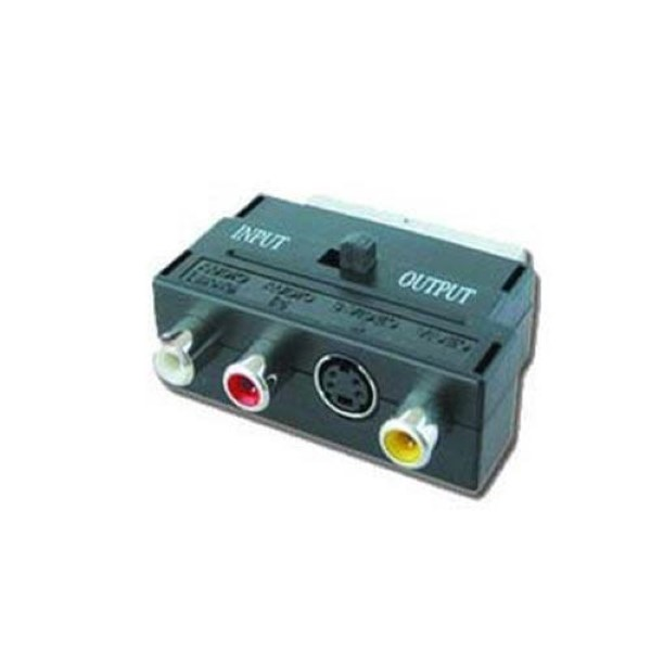 CABLEXPERT BIDIRECTIONAL SCART/RCA/SVIDEO ADAPTER
