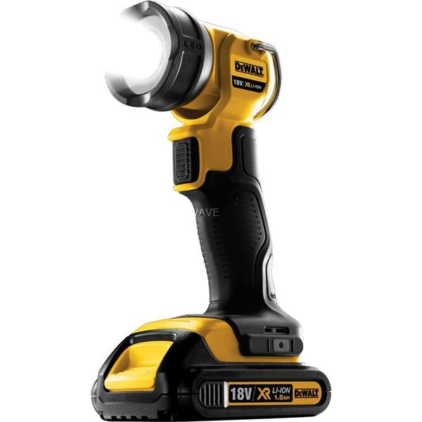 DEWALT CORDLESS LAMP DCL040, LED LIGHT WITHOUT BATTERY AND CHARGER