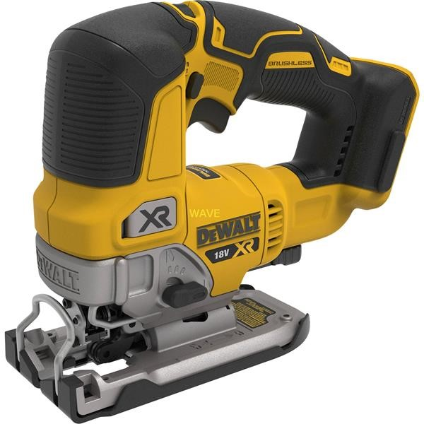DEWALT CORDLESS JIGSAW DCS334NT, 18 VOLT YELLOW - BLACK, TSTAK BOX, WITHOUT BATTERY AND CHARGER