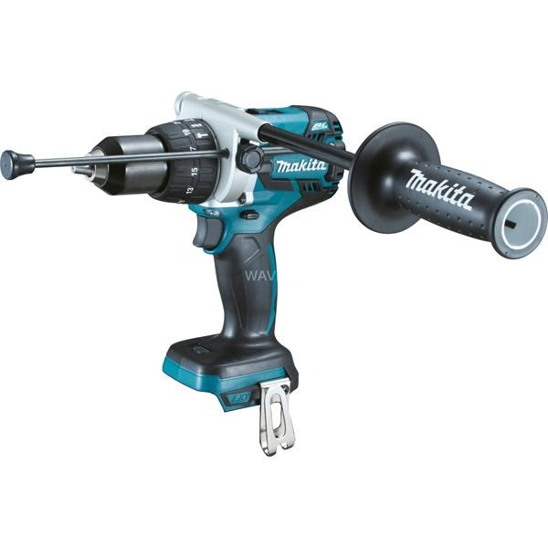 MAKITA CORDLESS HAMMER DHP481Z, 18 VOLTS BLUE - BLACK, WITHOUT BATTERY AND CHARGER