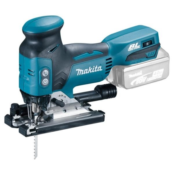 MAKITA CORDLESS PENDULUM JIGSAW DJV181Z, 18 VOLT BLUE - BLACK, WITHOUT BATTERY AND CHARGER