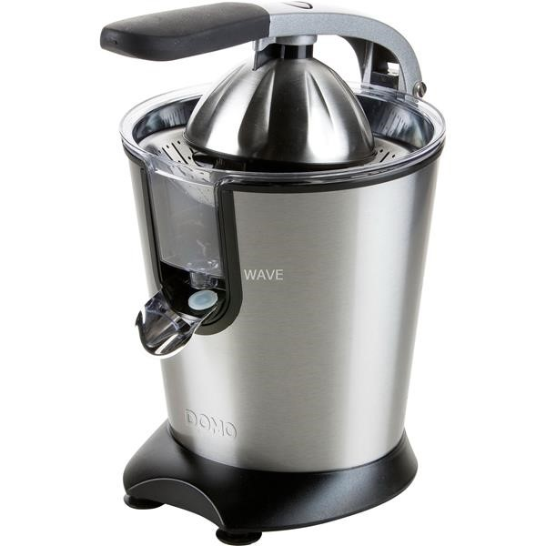 Domo juicer with lever DO9173J stainless steel black