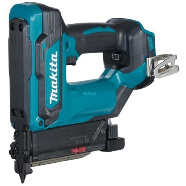 MAKITA CORDLESS PINTACKER DPT353Z, 18 VOLT, ELECTRIC TACKER BLUE - BLACK, WITHOUT BATTERY AND CHARGER