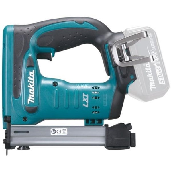 MAKITA CORDLESS TACKER DST221Z, 18 VOLT, ELECTRIC TACKER BLUE - BLACK, WITHOUT BATTERY AND CHARGER