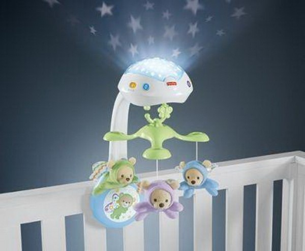 FISHER PRICE - BUTTERFLY DREAMS 3-IN-1 PROJECTION MOBILE (CDN41)