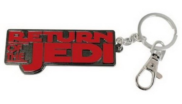STAR WARS - RETURN OF THE JEDI LOGO SNAP KEYCHAIN