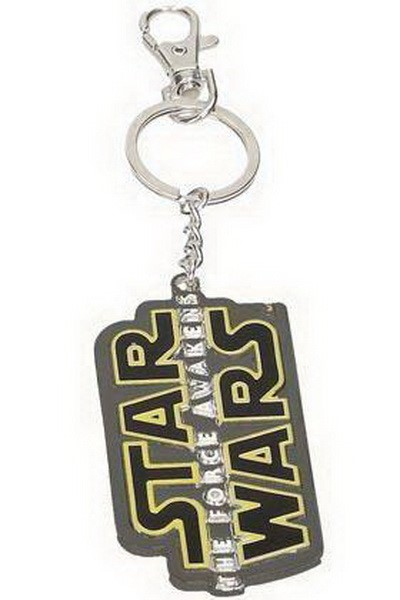 STAR WARS : THE FORCE AWAKENS - SW TFA LOGO METAL KEYCHAIN (SDTSDT89023)