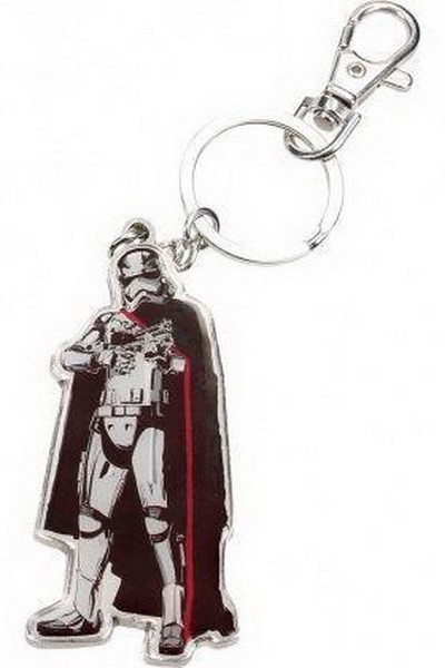 STAR WARS : THE FORCE AWAKENS - CAPTAIN PHASMA METAL KEYCHAIN (SDTSDT89025)