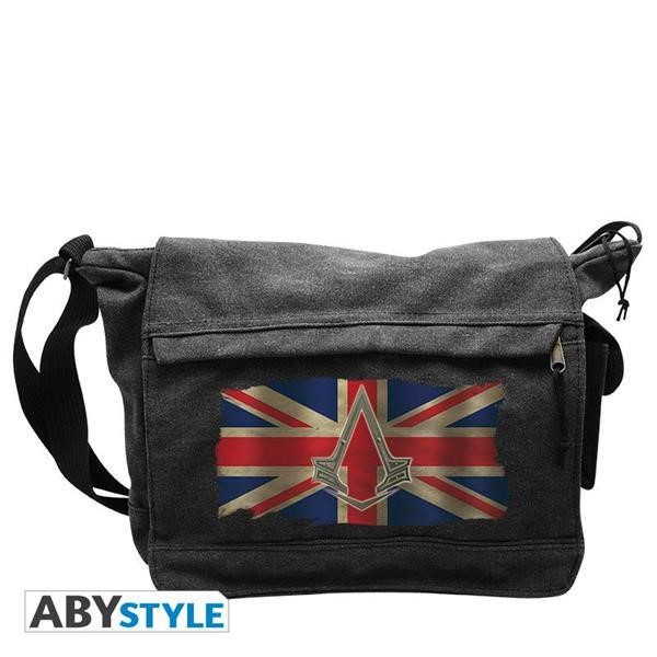 "ASSASSIN'S CREED SYNDICATE - ""UNION JACK USED"" MESSENGER BAG (ABYBAG106)"