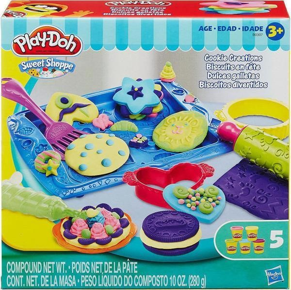 HASBRO PLAY-DOH SWEET SHOPPE - COOKIE CREATIONS SET (B0307)