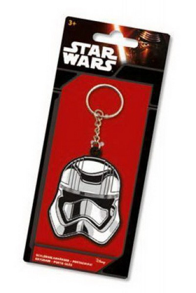 STAR WARS EPISODE VII: CAPTAIN PHASMA RUBBER KEYCHAIN