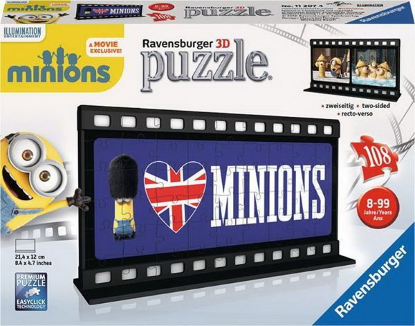 RAVENSBURGER FILM STRIP MINIONS LONDON (108PCS.) (11207)