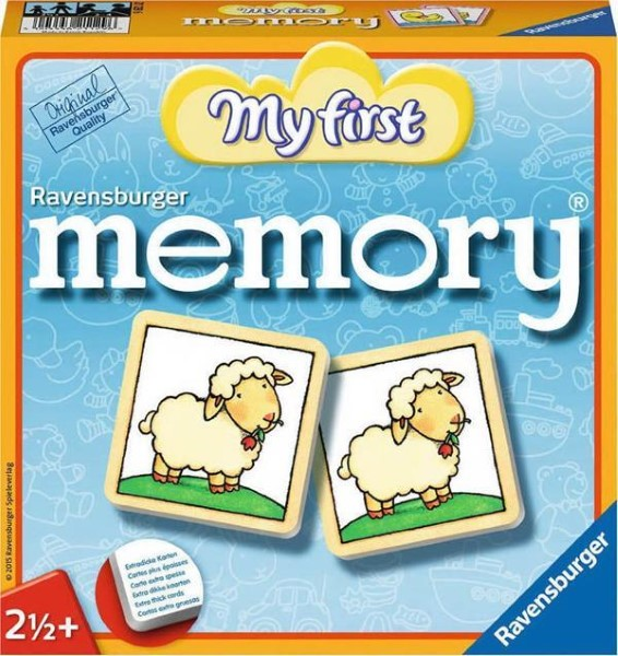 RAVENSBURGER GAME MEMORY ΜY FIRST MEMORY (21129)