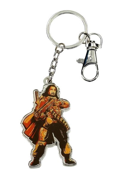 STAR WARS ROGUE ONE - BAZE MALBUS METAL SHAPED KEYCHAIN (SDTSDT27616)