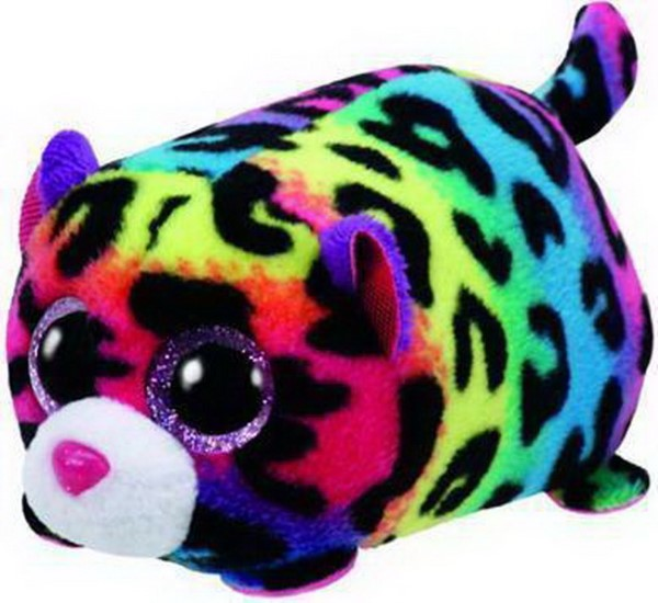TY ΤΕΕΝΥ TYS - JELLY THE LEOPARD COLOURFUL PLUSH TOY (4,5CM) (1607-42163)