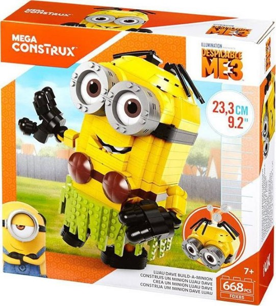 MEGA CONSTRUX - DESPICABLE ME 3: LUAU DAVE BUILD-A-MINION (FDX85)