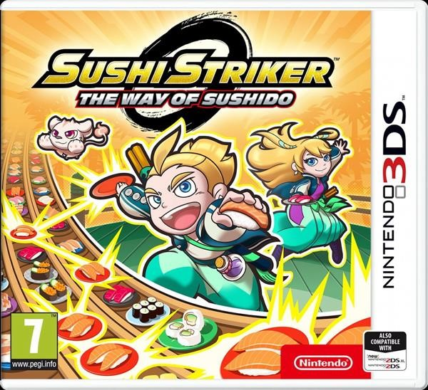3DS SUSHI STRIKER: THE WAY OF SUSHIDO (EU)