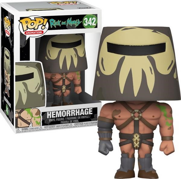 Funko POP! Animation: Rick & Morty - Hemorrage #342 Vinyl Figure