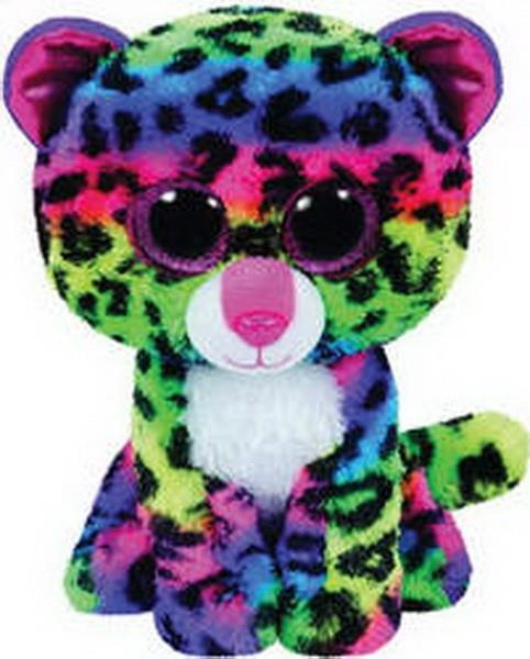 TY BEANIE BOO DOTTY THE MULTICOLOR LEOPARD (23CM) (1607-37074)