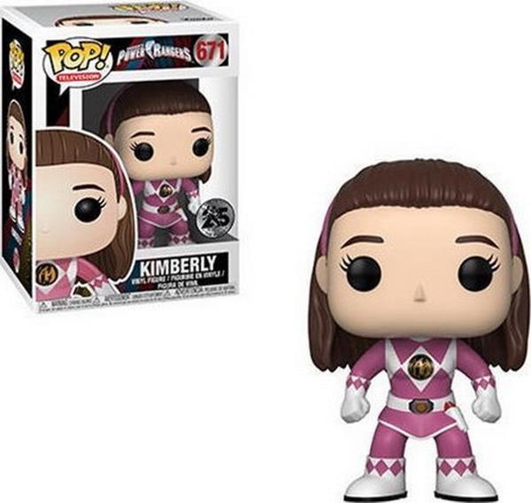 Funko POP! Television: Power Rangers - Kimberly Pink Ranger (No Helmet) #671 Vinyl Figure