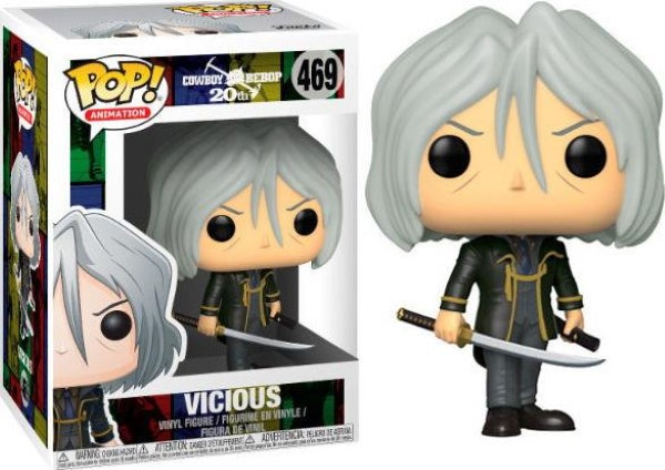 Funko POP! Animation Cowboy Bebop: Vicious #469 Vinyl Figure