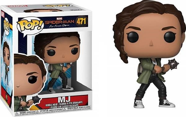 Funko POP! Spider-Man: Far From Home - MJ #471 Bobble-Head Vinyl Figure