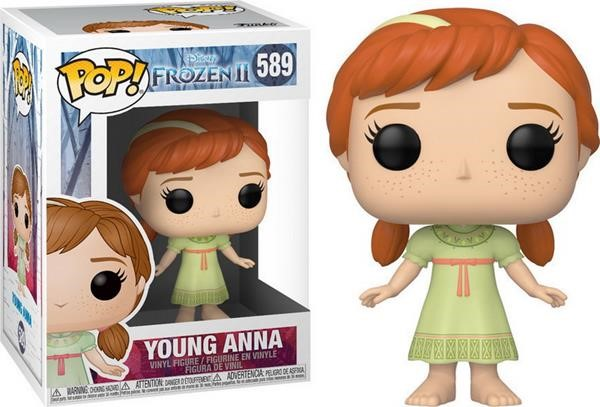 Funko POP! Disney: Frozen II - Young Anna #589 Vinyl Figure