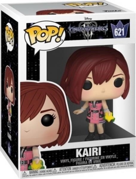 Funko POP! Disney: Kingdom Hearts III S2 - Kairi with Hood #621 Vinyl Figure