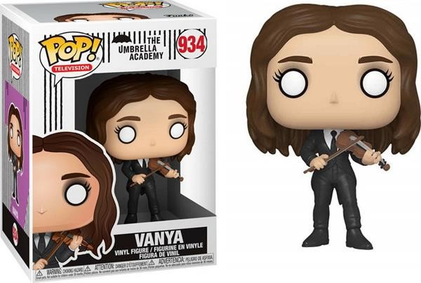 Funko POP! Television: The Umbrella Academy - Vanya* #934 Vinyl Figure