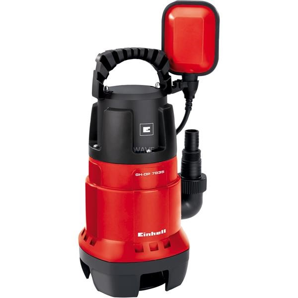 EINHELL DIRT WATER PUMP GC-DP 7835, IMMERSION - PRESSURE PUMP RED - BLACK, 780 WATTS