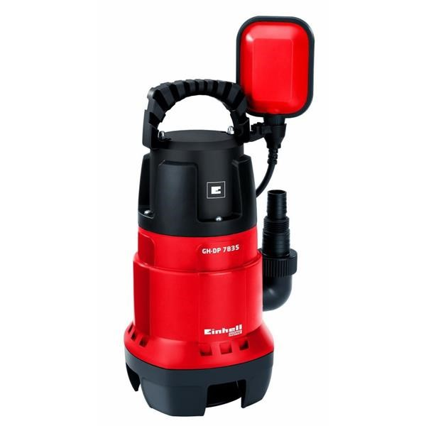 EINHELL DIRT WATER PUMP GE-DP 6935 ECO, IMMERSION - PRESSURE PUMP RED - BLACK, 690 WATTS