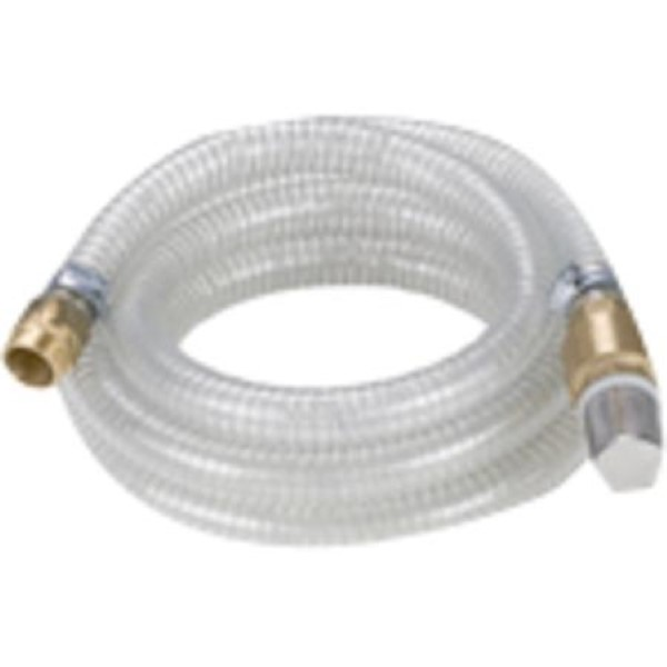 EINHELL PUMP SUCTION HOSE BRASS TRANSPARENT, 4M