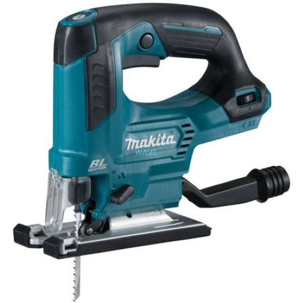 MAKITA CORDLESS PENDULUM JV103DZ, 12V BLUE - BLACK, WITHOUT BATTERY AND CHARGER