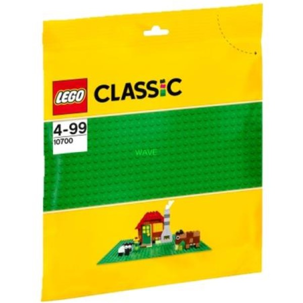 LEGO 10700 CLASSIC GREEN BUILDING BOARD, CONSTRUCTION TOYS